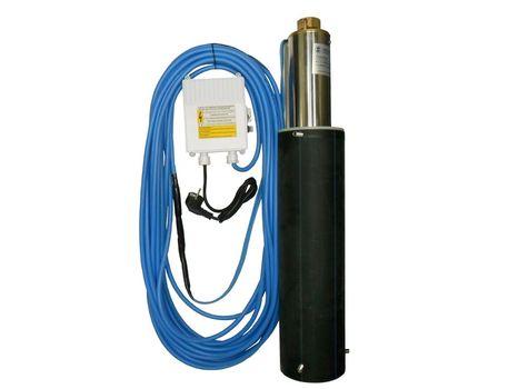 AQUANAUT 96 C/8, 230V, 0,37kW, s 20m káblom 4Gx1,5 + chladiaci plášť