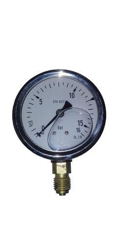 """Manometer GR63 0-16bar, glycerínový, bočný, 1/4"""""""